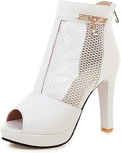 HommesGLTX Plateforme Grande Taille 33-43 Bottes d'été d'été Femme Chaussures Talons Hauts Chaussures élégantes Femme  marques de mode