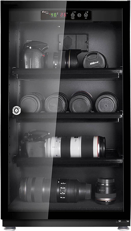 LANHA 100L/120L Caja Seca de Control Digital automático electrónico, Gabinete seco deshumidificador de cámara de 10W Silencioso y Ahorro de energía para Equipos electrónicos