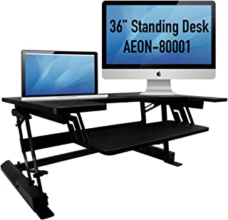 Aeon Sit to Stand Desk - Height Adjustable (36