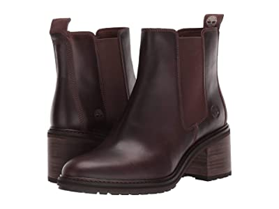 Timberland Sienna High Chelsea (Dark Brown Full Grain Leather) Women