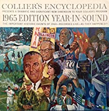 Collier's Encyclopedia: 1965 Edition Year-In-Sound LP