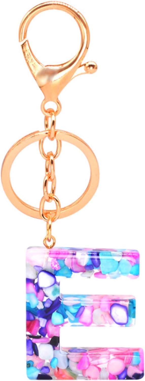 Keychains for women, key ring Letter Keychain Trendy Creative Initial Resin Handbag Accessories,keychain for keys