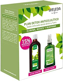 Plan detox weleda (zumo de abedul + aceite de abedul