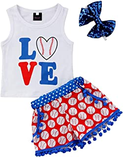 Best toddler girl baseball outfit Reviews