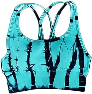 XFKLJ Sports Bra Yoga Pants Seamless Women Yoga Set Fitness Clothing Sports Clothes High Waist Gym Suits Padded Push-Up Sp...
