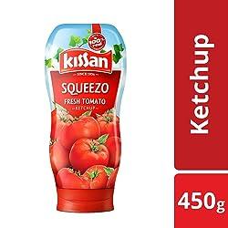 Kissan Squeezo Fresh Tomato Ketchup, 450g