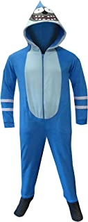 Men's Mordecai Footie Onesie Pajamas with Hood