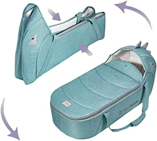 Sunveno Foldable Travel Carry Cot Green