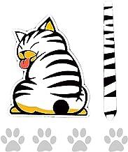 猫型ステッカー 車のリアウィンドウにもつけたい カーステッカー カー用品 カーグッズ