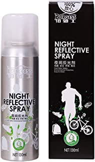 Cuekondy 2019 New!Night Reflective Spray Paint, Outdoor Reflecting Safety Mark Anti Accident Night Riding Bike Reflective Gear for Bike Clothing ect