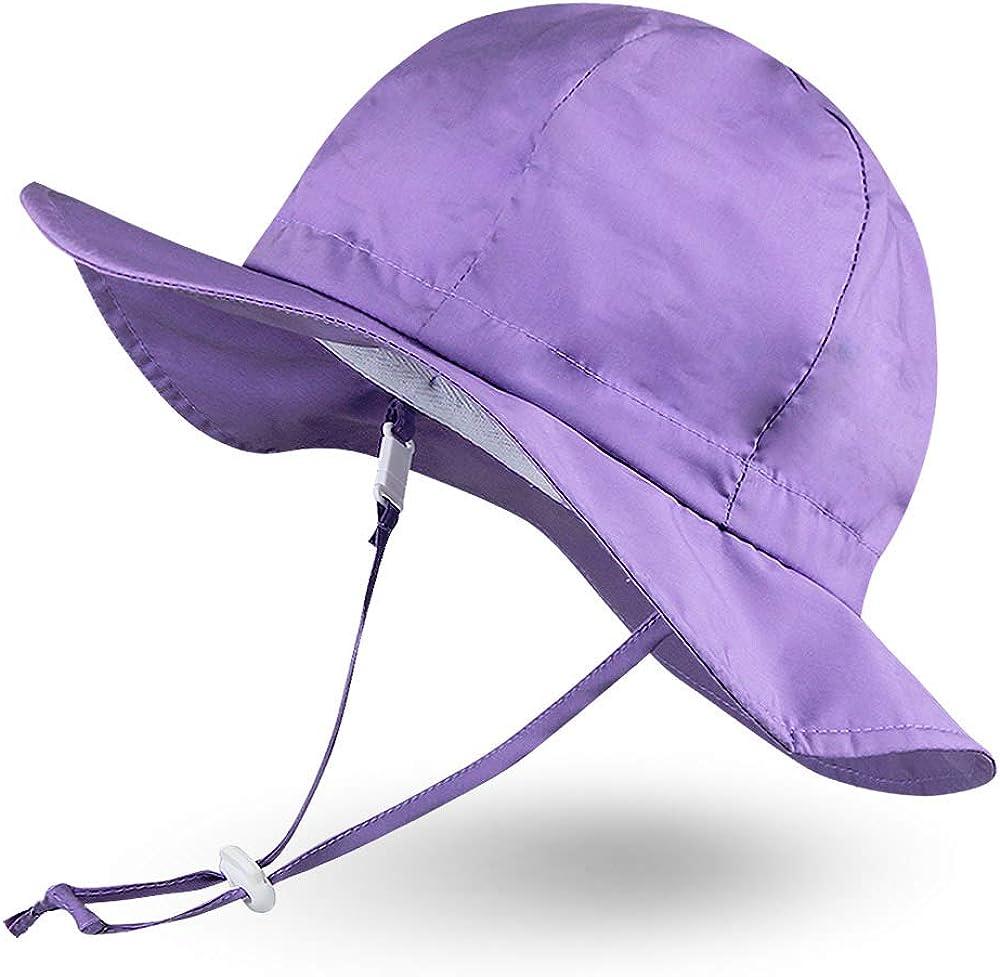 Ranking TOP7 AmiLi tots Unisex Child Adjustable Over item handling Protection Brim Wide Hat Sun