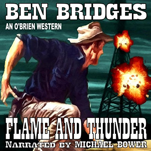 Flame and Thunder audiobook cover art