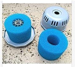 cepillo de piscina Piscina al filtro de la bomba de agua filtro de la bomba Lay En Clean Spa Bañera de hidromasaje S1 lavable Bio Espuma 2 4 X Reino Unido VI Lazy Z Tipo de filtro accesorios para pisc