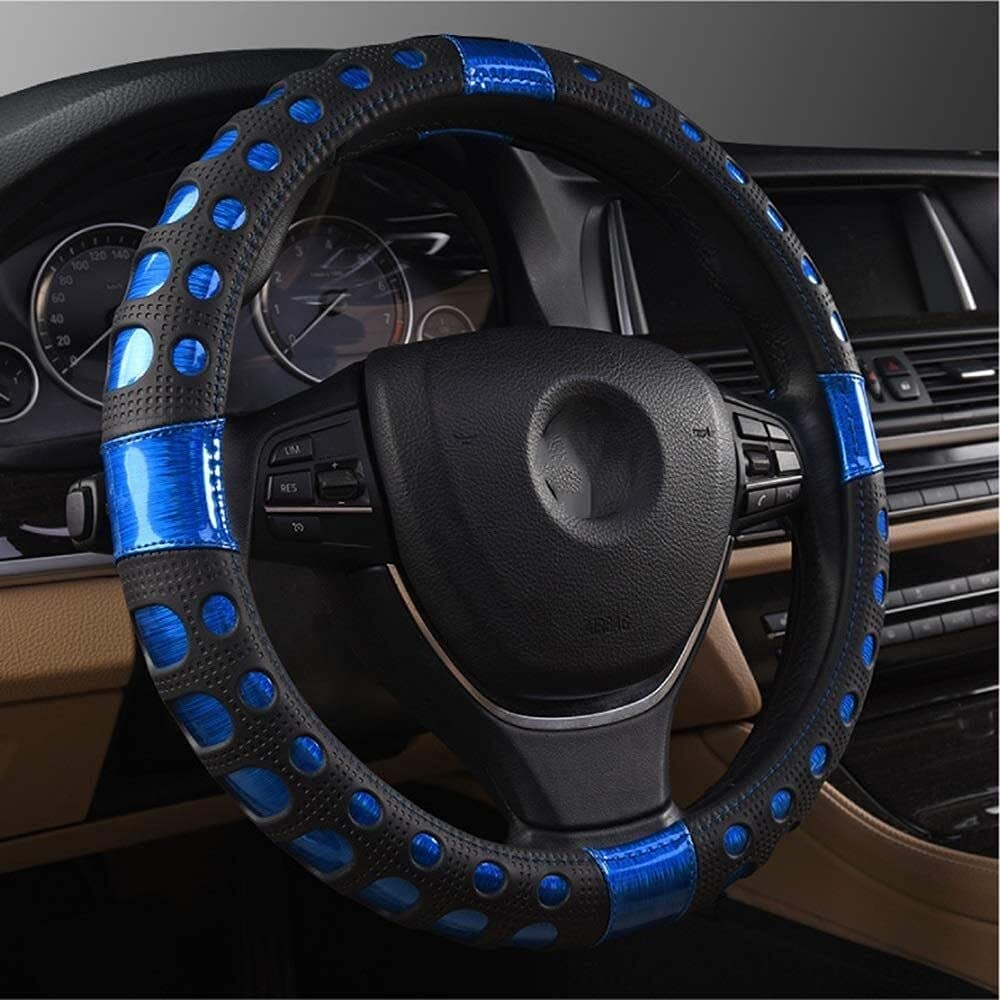 YBQ Steering Wheel Cover service Electro-Optic Covers Popularity Blu