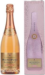 Heidsieck & Co. Monopole Rosé Top Brut Champagner mit Geschenkverpackung 1 x 0.75 l