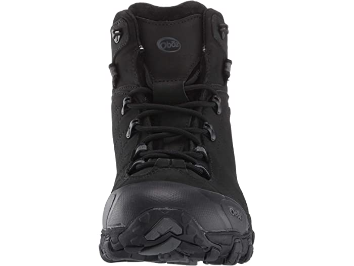 Oboz Bridger Bdry Midnight Black Boots