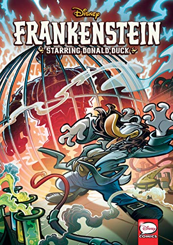 Disney Frankenstein Starring Donald Duck Graphic Novel Kindle Edition By Enna Bruno Celoni Fabio Merli Luca Children Kindle Ebooks Amazon Com