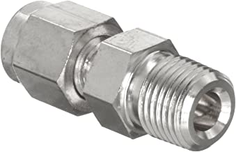 Parker A-Lok 4MSC4N-316 316 Stainless Steel Tube Fitting, Adapter, 1/4