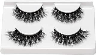 3D Mink Eyelashes Fluffy false eyelashes Natural Look Fake Eyelashes Wispies Soft Mink Hair Handmade Lashes Reusable Makeup