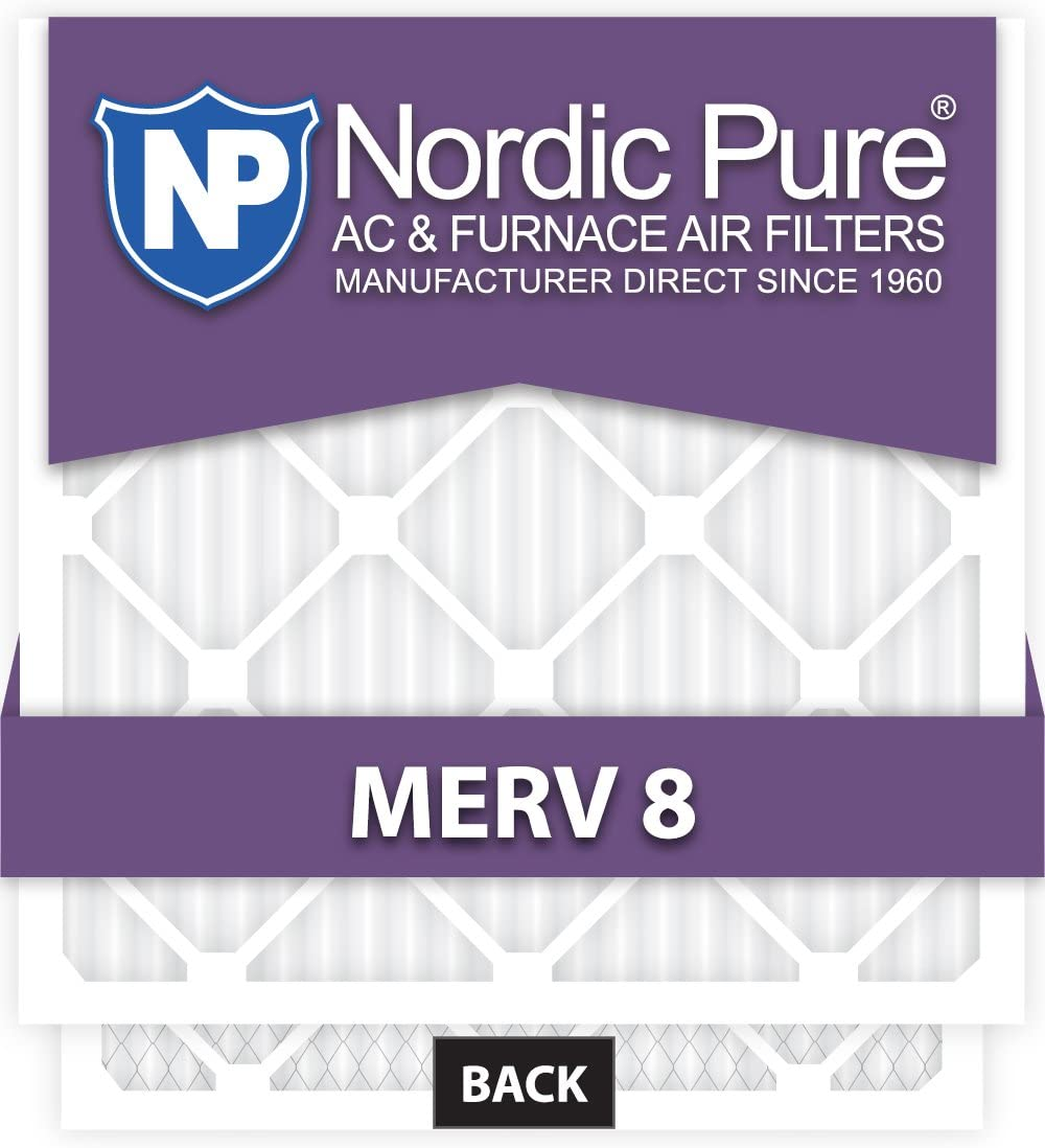 10x10x1 Special price for a limited time Challenge the lowest price Exact MERV 8 AC 12 Qty Filters Furnace