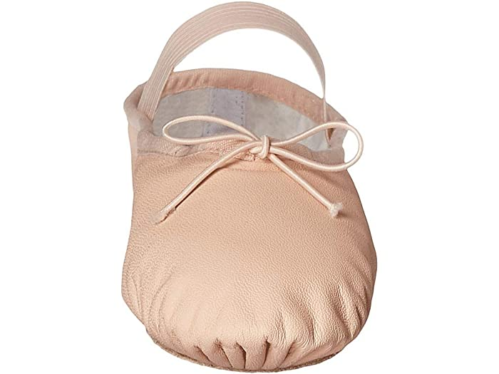 Pink 5.5 Wide Bloch Womens Dance Dansoft II Leather Split Sole Ballet Shoe//Slipper