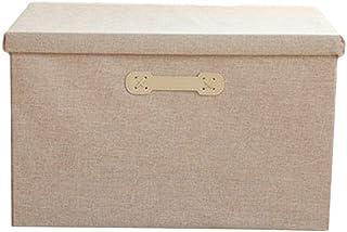 Cube De Rangement Tissu Caisse De Rangement Avec Couvercle BoîTe De Rangement Pliable Tissus Peut Stocker Des Collations, ...