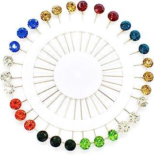 12x pieces Hijab Pin Kunststoff Schal Pins Muslim Hijab Sicherheitsnadel SCHWARZ