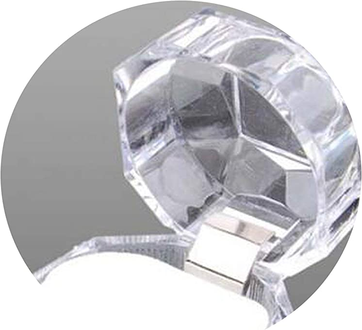 Jewelry Package Ring Earring Box Acrylic Transparent Packaging Jewelry Box~