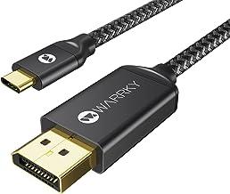 USB C to DisplayPort Cable 3.3FT / 1M (4K 60Hz, 2K 144Hz...