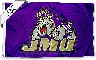College Flags & Banners Co. JMU Dukes 4'x6' Flag