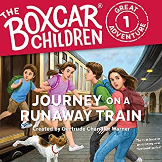 Journey on a Runaway Train audiobook cover art