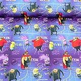 Jersey Disney Minions mit Schurken 1,5m Breite