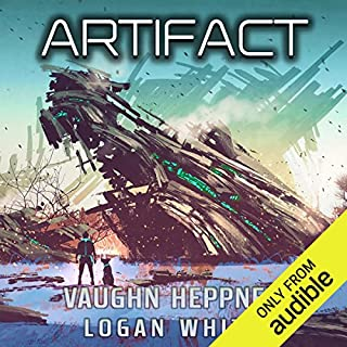 Artifact audiobook cover art