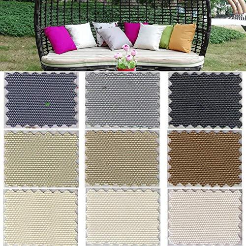 YSGLIFE Pack de 2, 50x50cm Funda de Almohada Impermeable Funda de Almohada para el Hogar al Aire Libre Decoración Fundas de Cojín Protectores para Coche Cama Sofá Silla Muebles de Jardín