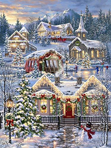 Springbok's 1000 Piece Jigsaw Puzzle Christmas Village