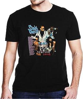 Chr.is Br.own Fame Concert Short Sleeves Shirt, Unisex Hoodie, Sweatshirt for Men and Women (Design 1 - L)