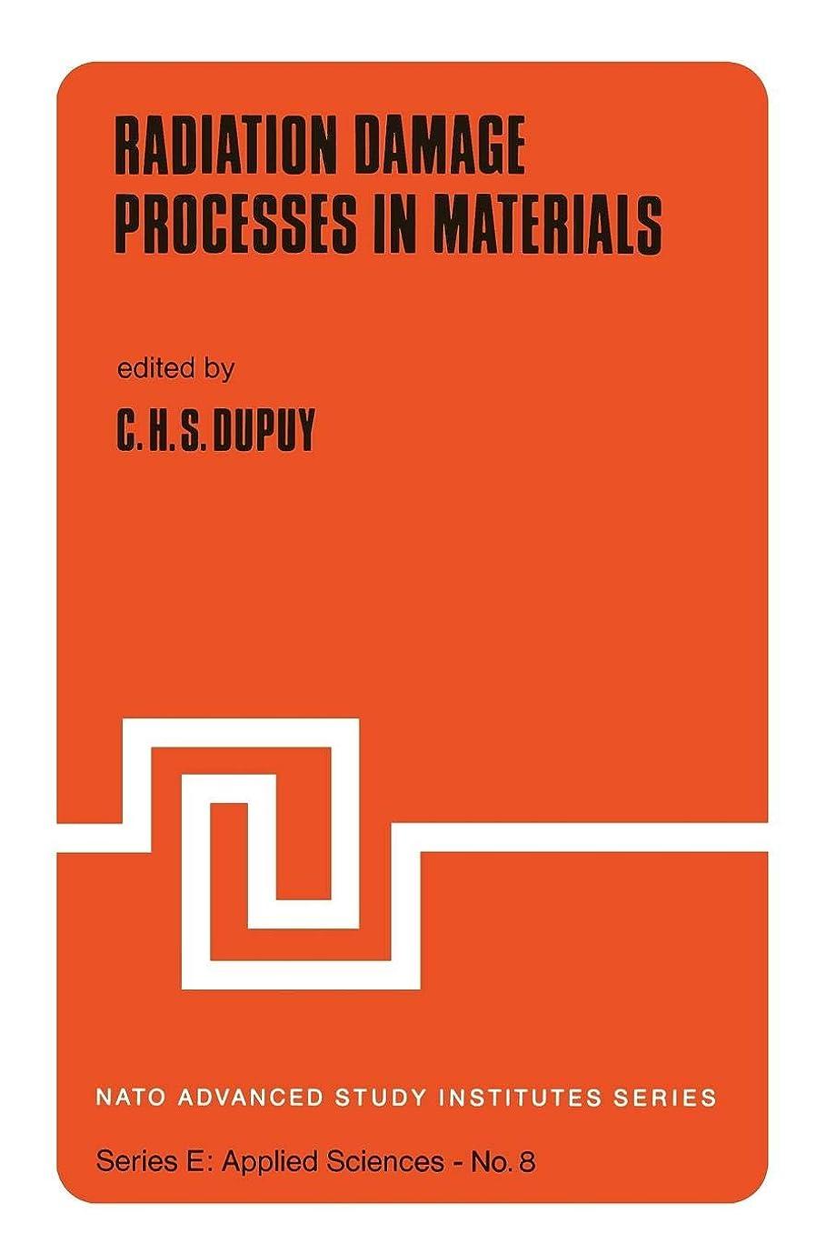 債務者電話危険を冒しますRadiation Damage Processes in Materials (Nato Science Series E:)
