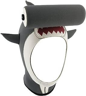 cartoon shark head