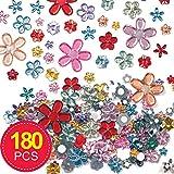 5x5mm L/áminas de mini cristales reales autoadhesivas cuadrados y redondos 5//10/mm