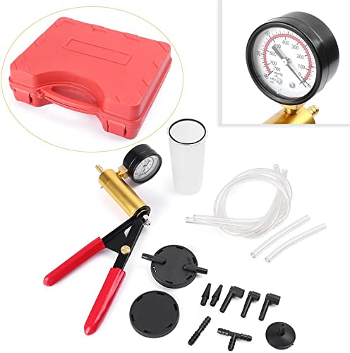 discount Mallofusa lowest Hand online Held Vacuum Pump Tester Set Brake Bleeder Kit outlet sale