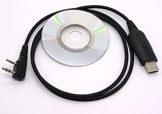 Wishring USB Programming Cable for Kenwood Linton PUXING TYT F8 TG-UV2 BAOFENG UV5R UV100