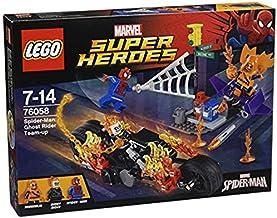 LEGO Super Heroes - Spider-Man, Alianza con el Motorista Fantasma (6137791)