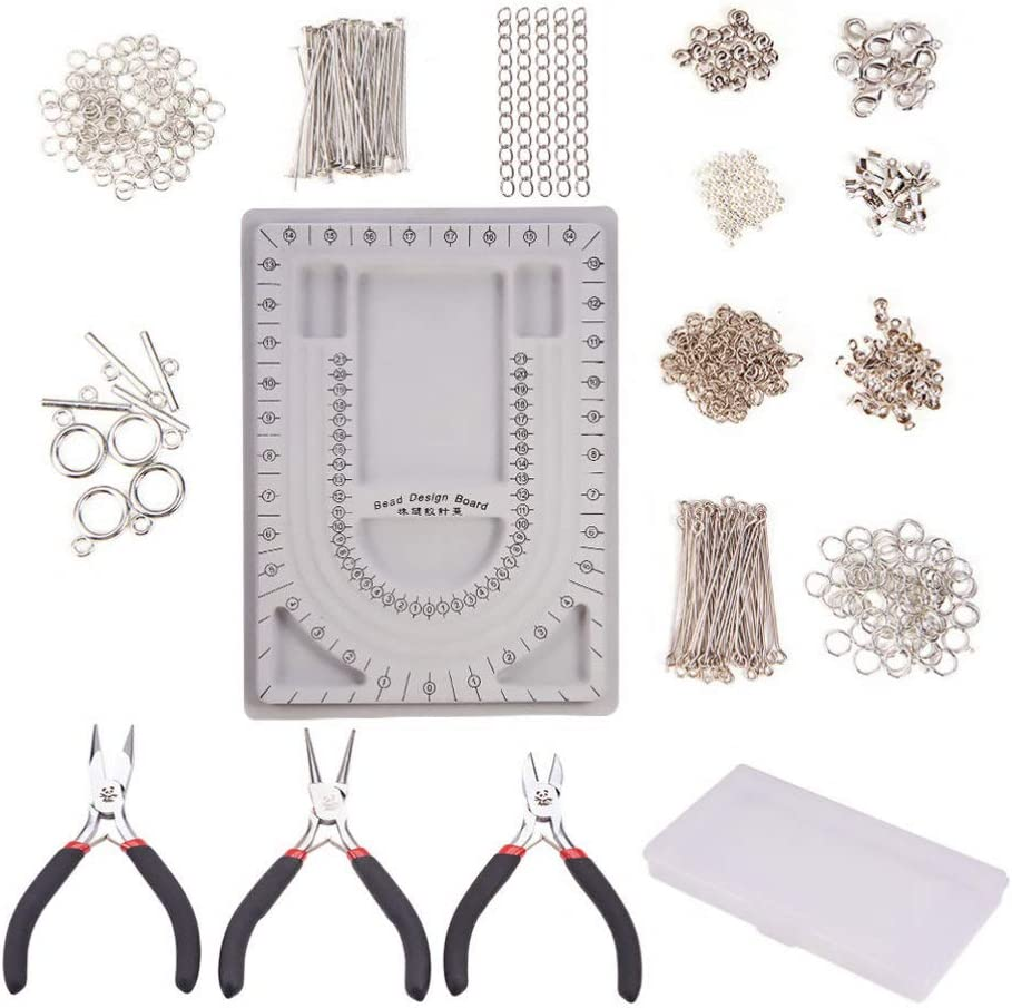 Healifty Gorgeous Jewelry Making Supplies Kit Tucson Mall Jewe Board with Bead Design