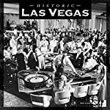 Las Vegas Historic 2020 12 x 12 Inch Monthly Square Wall Calendar with Foil Stamped Cover, USA United States of America Nevada Rocky Mountain City