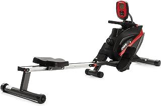 SportPlus Roeitoestel voor thuis, inklapbaar, stille magneetrem, kogelgelagerde roeistoel, compatibel met borstband, train...