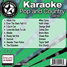 All Star Karaoke October 2013 Pop and Country Hits B (ASK-1310B)