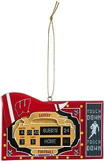 Team Sports America Wisconsin Badgers LED Box Set Ornaments