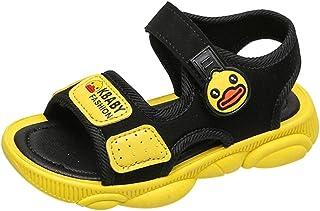 Sunbona (TM) Toddler Baby Boys Girls Beach Sandals Infant Kids Summer Cute Open Toe Cartoon Duck Sport Anti-Slip Shoes Flat Sneaker