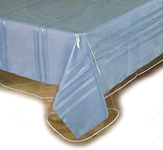 """Best Clear Plastic Tablecloth Protector, Table Cloth Vinyl (60"""" x 90"""") Review"""