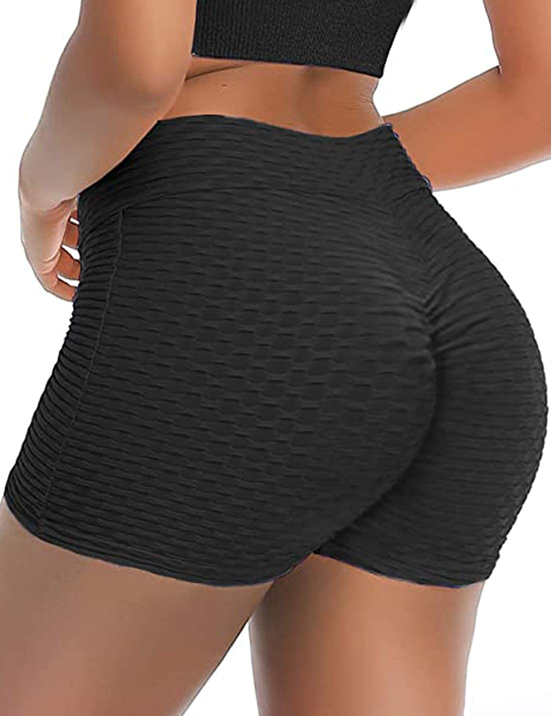Japan Maker New Lviefent Womens High Waisted Yoga Hip Shorts San Diego Mall Lifting Compression